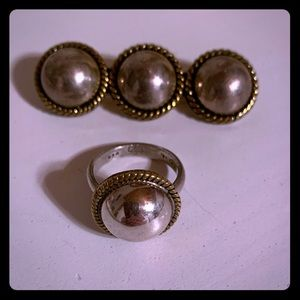 Brooch and ring set!